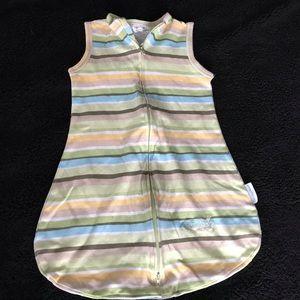 Summer infant sleep sack. EUC sm/med 7-14lbs